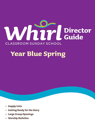 Picture of Whirl Classroom Directors Guide Year Blue Spring