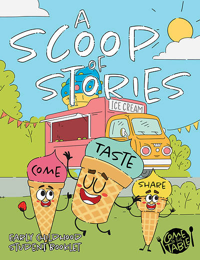 Picture of Vacation Bible School VBS 2021 Come to The Table A Scoop of Stories Early Childhood Activity Book