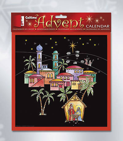 Night Nativity Advent Calendar #CA796