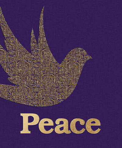 Picture of Peace Dove Advent Legal Size Bulletin