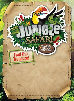 Standard VBS Jungle Safari Publicity Posters (Pkg5)