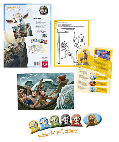 Picture of Vacation Bible School (VBS) 2020 Rocky Railway Little Kids Bible Pack (Student Book) - (50 sheets for 10 kids)