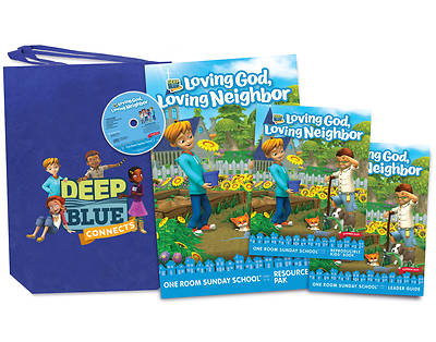 Picture of Deep Blue Connects One Room Sunday School Summer 2020 Kit