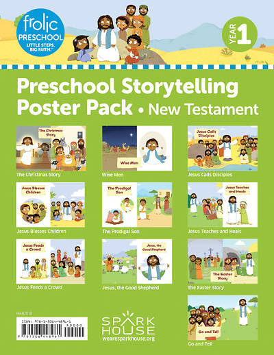 Picture of Frolic Preschool Storytelling Poster Pack Yr 1 New Testament