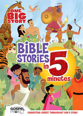 Picture of One Big Story Bible Stories in 5 Minutes (Padded)