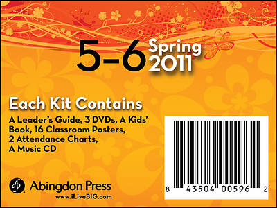 Picture of Live B.I.G. Ages 5-6 DVD Kit Spring 2011