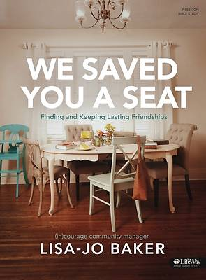Picture of We Saved You a Seat - Bible Study Book