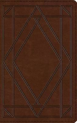 Picture of ESV Thinline Bible (Trutone, Chestnut, Wood Panel Design)