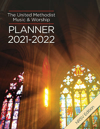 Picture of The United Methodist Music & Worship Planner 2021-2022 NRSV Edition