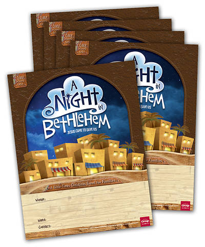 Picture of Night in Bethlehem Publicity Posters (pkg. 5)