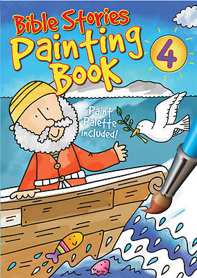 Bible Stories Painting Book #4