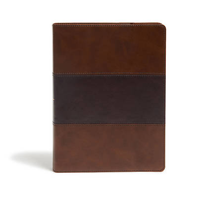 Picture of KJV Study Bible, Full-Color, Saddle Brown Leathertouch, Indexed
