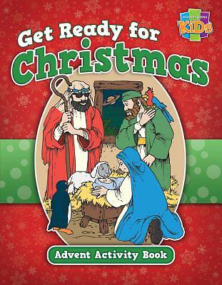 Picture of Get Ready for Christmas! Advent Activity Book-48 Pg