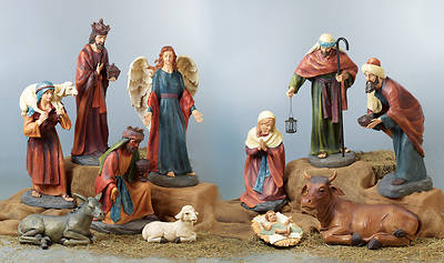 "XL Nativity - 11pc set (tallest figure 41"")"