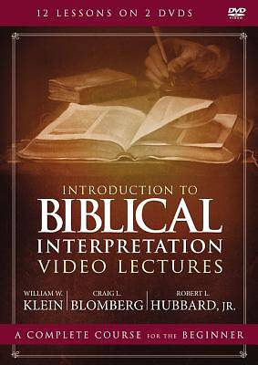 Picture of Introduction to Biblical Interpretation Video Lectures