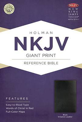 Picture of NKJV Giant Print Reference Bible