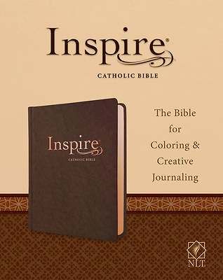 Picture of Inspire Catholic Bible NLT (Leatherlike, Dark Brown)