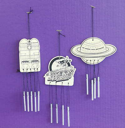 Picture of Vacation Bible School (VBS) To Mars and Beyond Wind Chimes Craft (Pkg of 12)