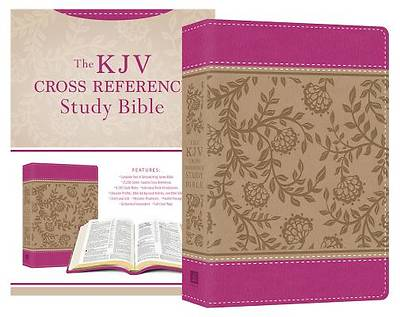 KJV Cross Reference Study Bible Compact [Peony Blossoms]