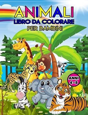 Picture of Animali Libro da Colorare per Bambini Anni 4-8