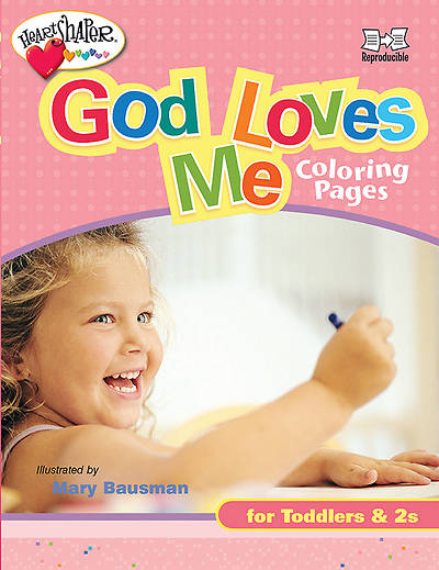 Heartshaper God Loves Me Coloring Pages