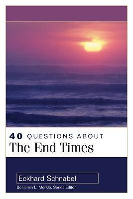 Picture of 40 Questions about the End Times