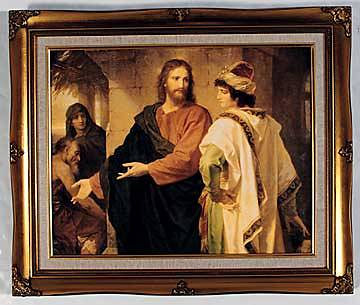 Art Christ and The Rich Young Ruler