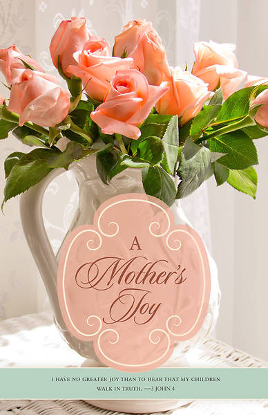 A Mothers Joy Mothers Day Bulletin