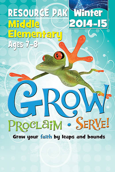Picture of Grow, Proclaim, Serve! Middle Elementary Resource Pak Winter 2014-15