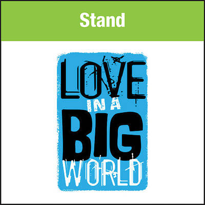 Love In A Big World Music: Stand MP3 Download
