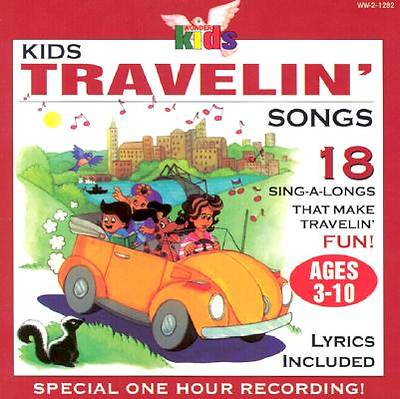 Kids Travelin Songs With Book