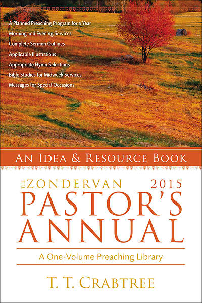 The Zondervan 2015 Pastors Annual
