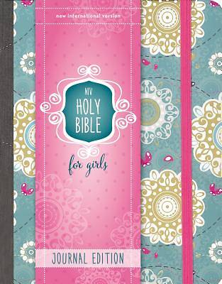 Picture of NIV My Journal Bible, Hardcover, Turquoise, Elastic Closure
