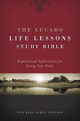 Picture of Lucado Life Lessons Study Bible-NKJV