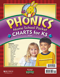 Beginnings Phonics Charts Packet Grd K5 3rd Edition