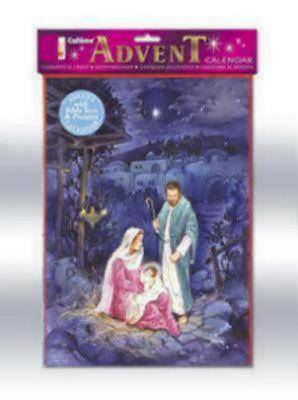 Jesus, Mary & Joseph Advent Calendar #CA697