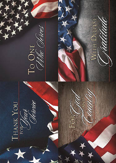 Picture of For Your Service Patriotic Boxed Cards