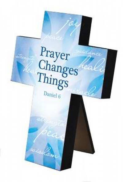 Prayer Changes Things Wall Cross