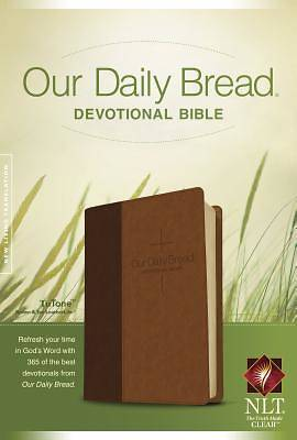 Picture of Our Daily Bread Devotional Bible NLT