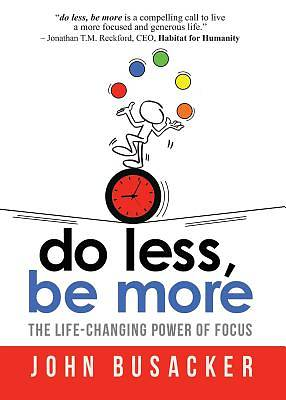 Picture of Do Less, Be More