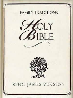 Picture of Family Traditions Bible-KJV-World Visual Reference System