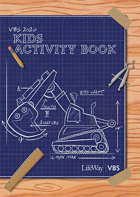 Picture of Vacation Bible School (VBS) 2020 Concrete and Cranes Kids Activity Book