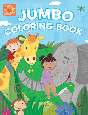 Picture of Little Words Matter Jumbo Coloring Book