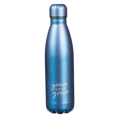 Picture of Stainless Steel Water Bottle Grace Upon Gracerace Upon Grace