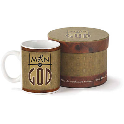Man of God Stoneware Mug