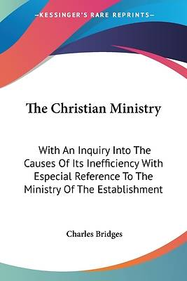 Picture of The Christian Ministry