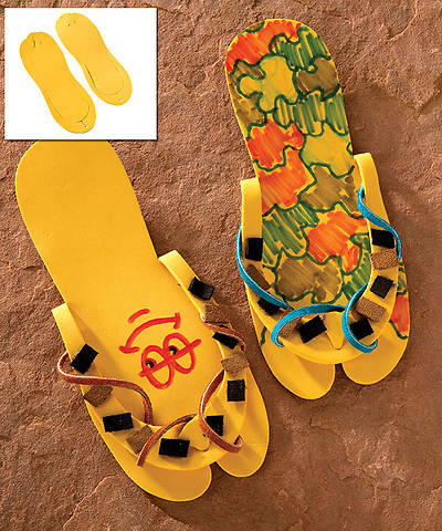 Group VBS 2014 Wilderness Escape Simple Sandals 10pk