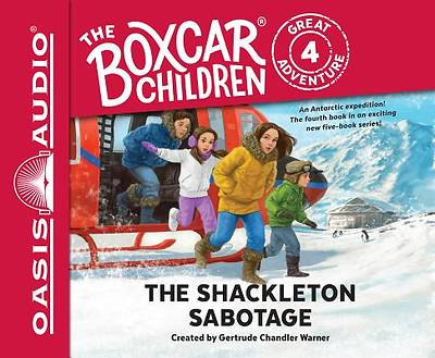 The Shackleton Sabotage (Library Edition)