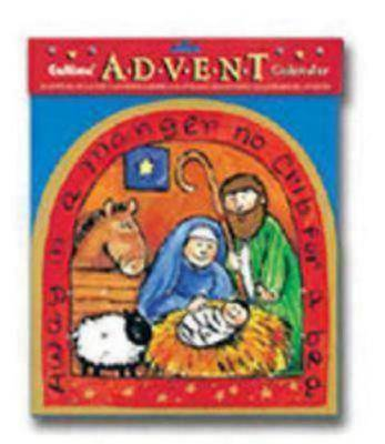 Toddlers Manger Scene Advent Calendar #CA597