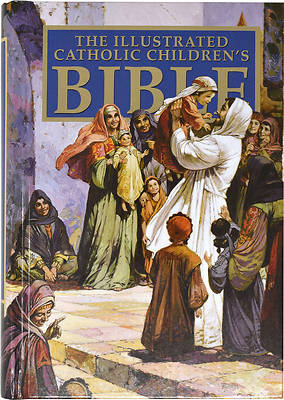 Catholic Childrens Illustrated Bible-Nab